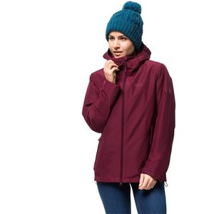 Jack Wolfskin Winter-Hardshell Frauen Chilly Morning Jacket Women L rot