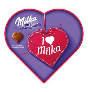MILKA             I Love Milka Pralinés, 165g