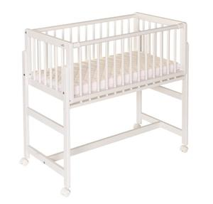 Geuther Beistellbett Betsy Boxspring weiss
