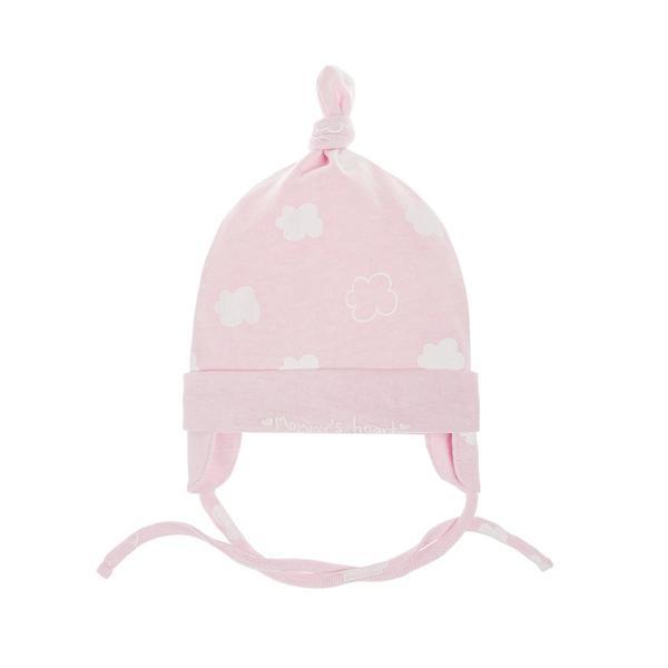 Baby Mütze zum Binden für Mädchen
