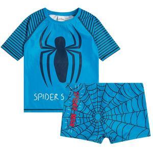Badeshirt und -shorts Spider Man