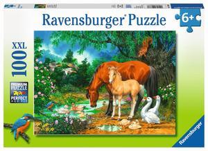 Ravensburger Puzzle Idylle am Teich