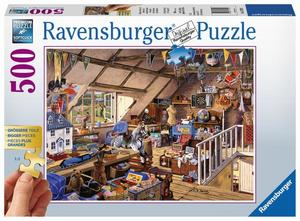 Ravensburger Puzzle Großmutters Dachboden