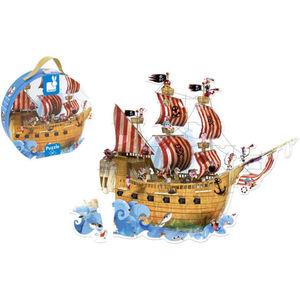 Puzzle-Koffer Piratenschiff