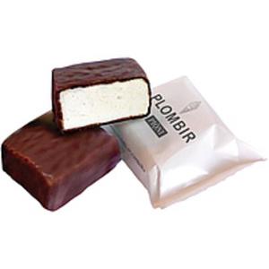 """Schaumzuckerwaren """"Plombir"""" in kakaohaltiger Fettglasur (25%..."""