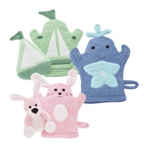 HOME CREATION     Waschhandschuhe / Wasch- und Bade-Set