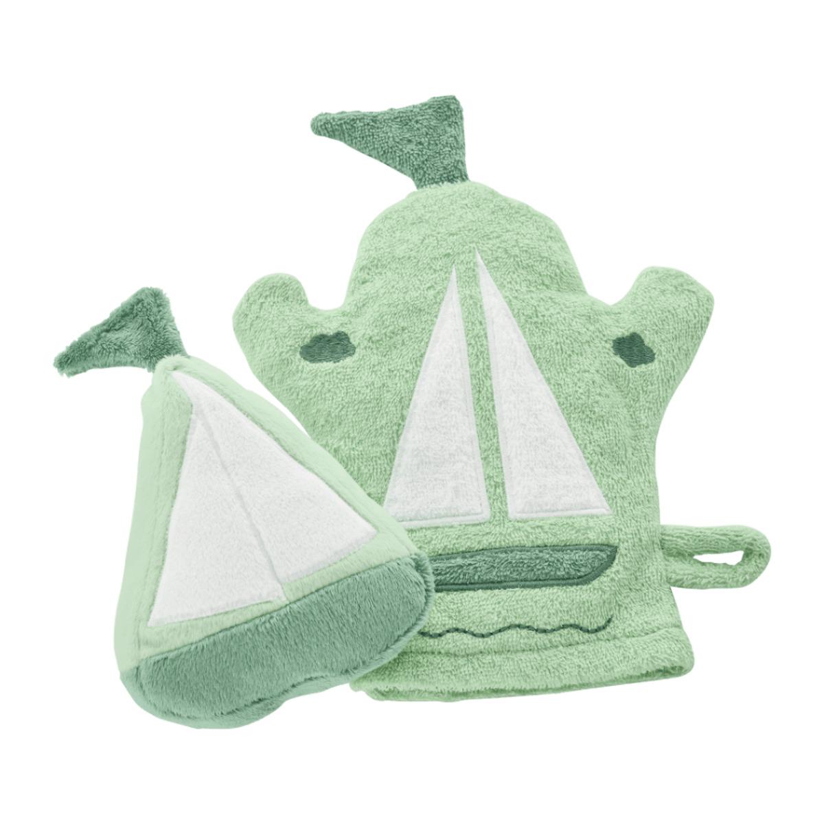 Bild 2 von HOME CREATION     Waschhandschuhe / Wasch- und Bade-Set