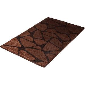 Kleine Wolke Badteppich ´´Inspire´´, dunkelbraun, 60x100 cm