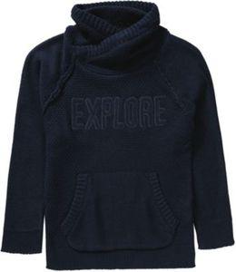 Pullover mit Schalkragen Gr. 128 Jungen Kinder