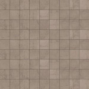 Mosaik Formwork grey ,  grau, 30,2 x 30,2 cm, auf Netz