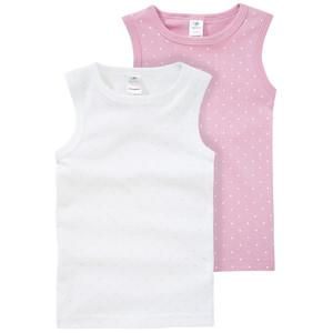 2 Baby Unterhemden im Doppelpack