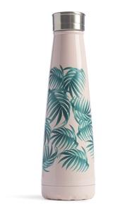 Edelstahlflasche mit Palmenprint