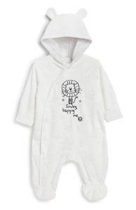 Schlafanzug mit Kapuze für Neugeborene