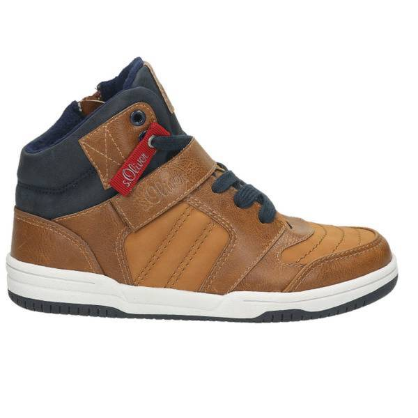 Herren High Top Sneaker, mittelbraun