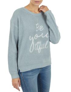 Damen Pullover mit Stickerei