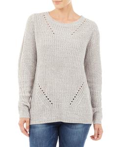 Damen Pullover aus Mouliné