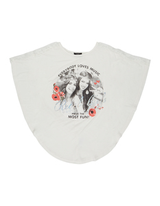 Mädchen Shirt mit Foto-Print