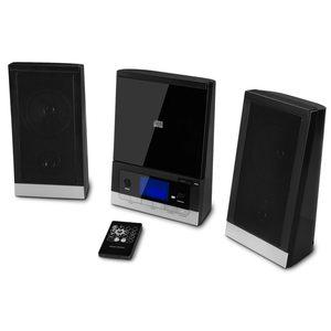MEDION LIFE® E64074 Mikro-Audio-System mit CD-Player UKW/MW Stereo Radio, Weckfunktion, 30 Senderspreicher, LC-Display mit blauer Hintergrundbeleuchtung, 2 x 25 Watt (B-Ware)