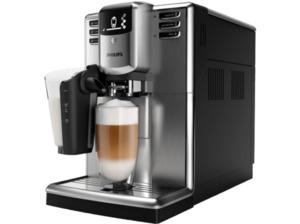 PHILIPS EP 5335/10 5000 Latte Go, Kaffeevollautomat, 1.8 Liter Wassertank, 15 bar, Edelstahl/Schwarz