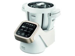 KRUPS HP5031 Prep&Cook, Küchenmaschine mit Kochfunktion, Rührschüssel-Kapazität: 4.5 Liter, 1550 Watt, Weiß/Grau/Edelstahl