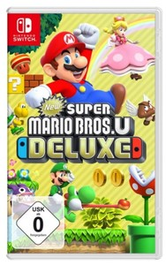 Switch Spiel New Super Mario Bros U Deluxe ,