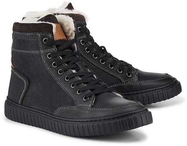 Freizeit-Sneaker von Another A in schwarz für Herren. Gr. 43,46