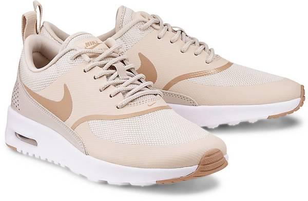 Sneaker Air Max Thea von Nike in beige für Mädchen. Gr. 36