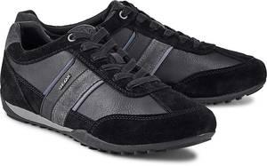 Sneaker Wells von Geox in schwarz für Herren. Gr. 40