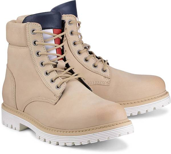 Trend-Boots von Tommy Jeans in beige für Herren. Gr. 40,41,42,43,44,45