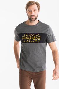 Angelo Litrico         Star Wars - T-Shirt - Bio-Baumwolle - Glanz Effekt