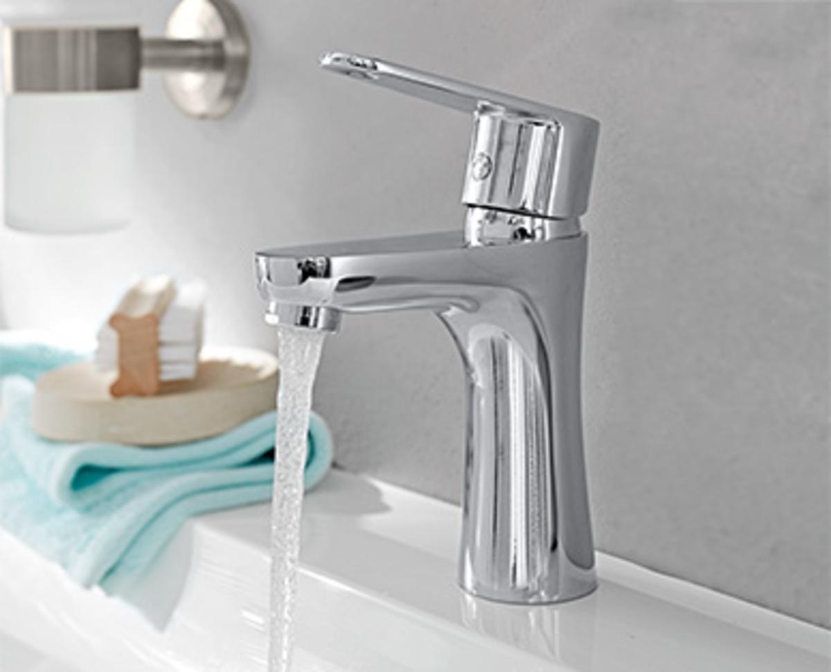 Bild 2 von EASY HOME®  Design-Waschtischarmatur