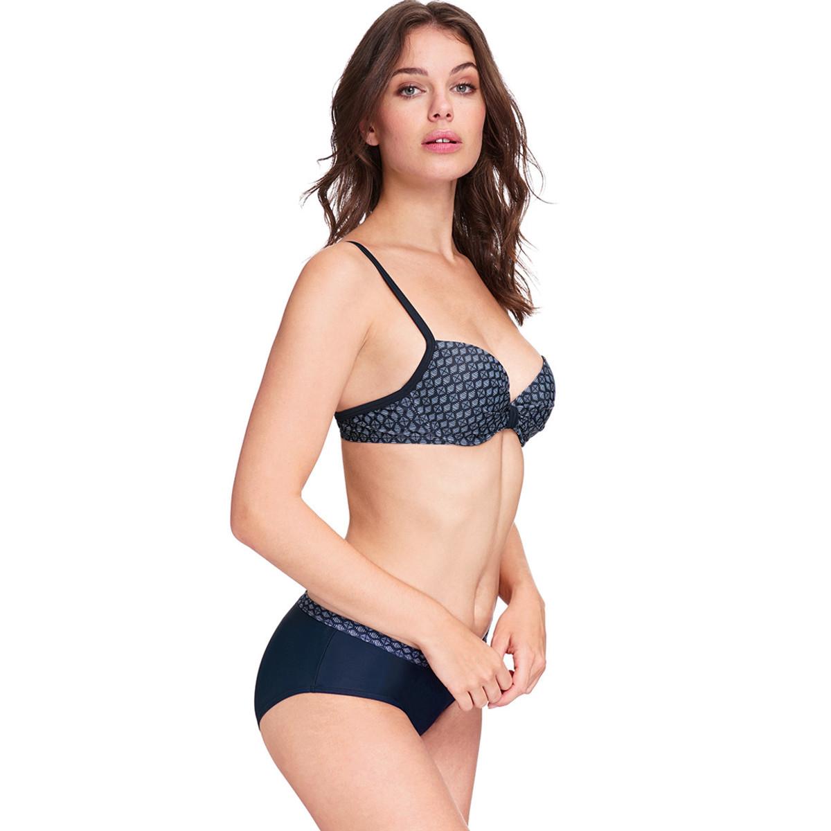 Bild 3 von Damen Bikinioberteil mit Allover-Muster