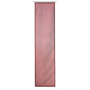 GÖZZE DAKAR Uni-Schiebevorhang 60 x 245 cm in Rot