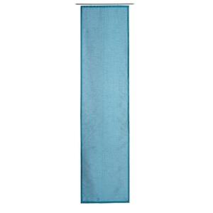 GÖZZE DAKAR Uni-Schiebevorhang 60 x 245 cm in Petrol