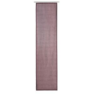 GÖZZE DAKAR Uni-Schiebevorhang 60 x 245 cm in Beere