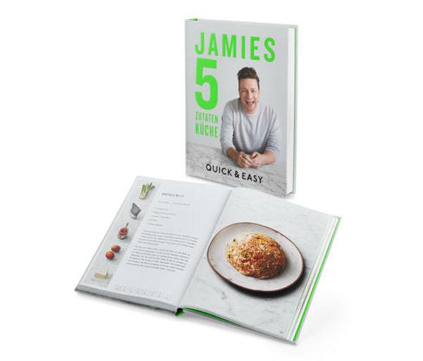 Buch »Jamies 5-Zutaten-Küche – Quick & Easy« von Jamie Oliver ...
