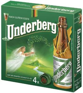 Underberg Kräuter-Bitter 4er 4x 20 ml