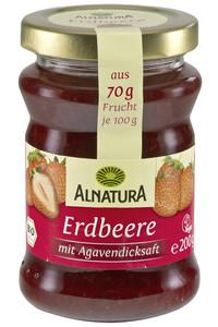 Alnatura Bio Fruchtaufstrich Erdbeere mit Agavendicksaft 200 g