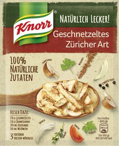 Knorr Natürlich Lecker Geschnetzeltes Züricher Art 32 g