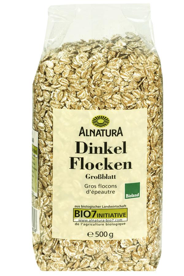 Alnatura Bio Dinkelflocken Großblatt 500 g