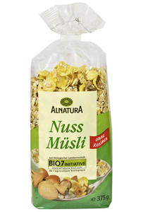 Alnatura Bio Nuss Müsli 375 g