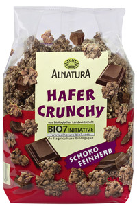 Alnatura Bio Hafer Crunchy Schoko feinherb 375 g