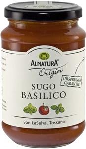 Alnatura Origin Bio Tomatensauce Sugo Basilico 340 g