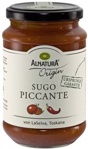 Alnatura Origin Bio Tomatensauce Sugo Piccante 340 g