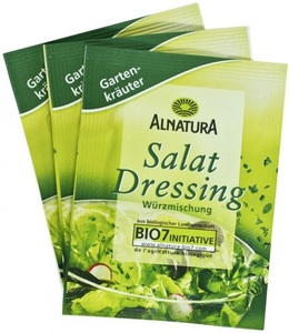 Alnatura Bio Salatdressing Gartenkräuter 3x 8 g