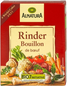 Alnatura Bio Rinder Bouillon 6x 11 g