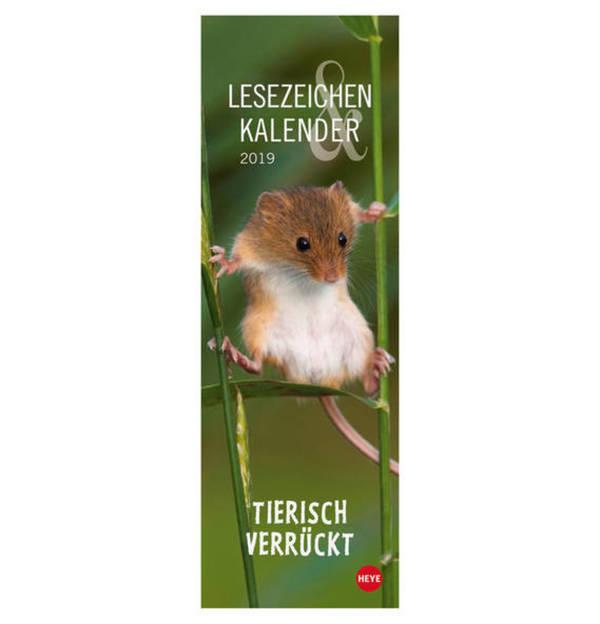 HEYE             Tierisch verrückt Lesezeichen & Kalender