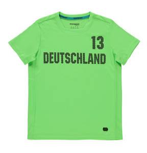 manguun sports             T-Shirt, atmungsaktiv, Deutschland-Print, für Kinder