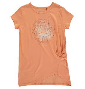 JETTE by STACCATO             T-Shirt, Strass, Print, Raffung, für Mädchen