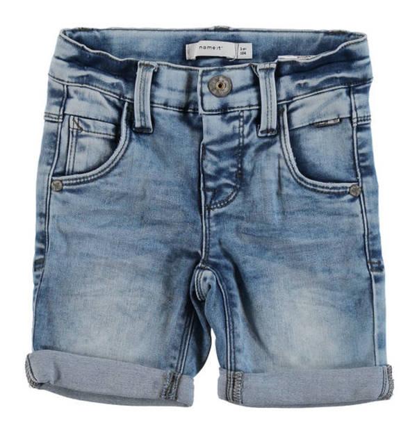 name it             Jeans-Shorts, Waschung, Stretch, für Jungen